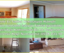 İzmir Ev Daire Tadilat Dekorasyon Hizmeti Komple